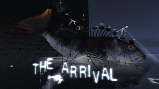 The Arrival by Rose Borchovski at LEA 23. Photo by PJ Trenton.
