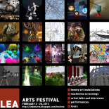 LEA Arts Festival poster by PJ Trenton